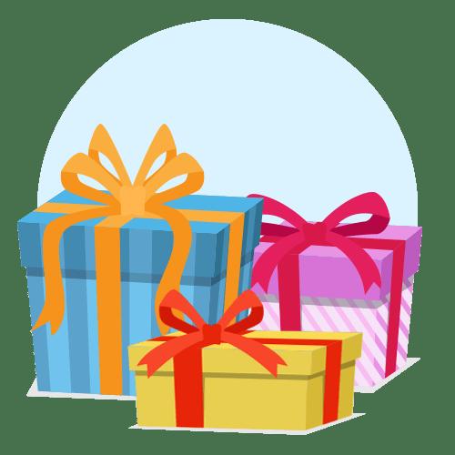 Подарки, контекстная реклама